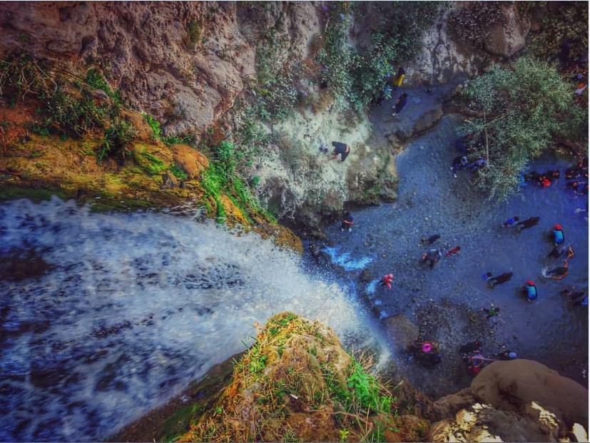 آبشار آبگرم کلات نادر